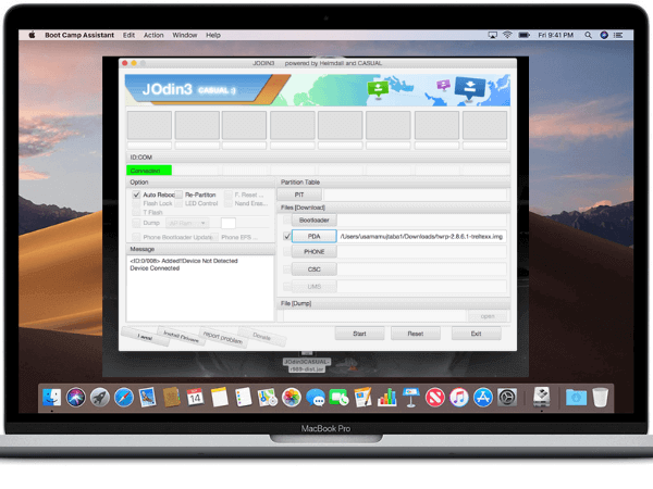 Odin for Mac